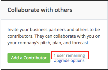 Add a Contributor Button Location