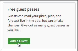 Add Guest Button Location